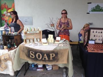 soap display mm fair 2